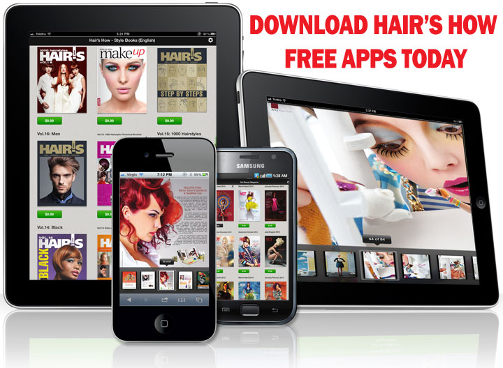 Download Free Hair's How Apps Today!