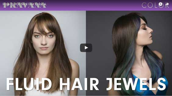 Pravana's three new VIVIDS Jewels hair colors