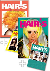 HAIR'S HOW, Vol.9 Color + Vol.19 Color
