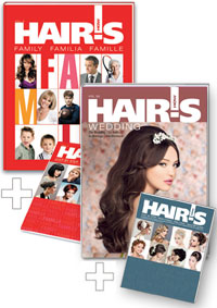 HAIR'S HOW, Vol.11 Family + Vol.20 Wedding