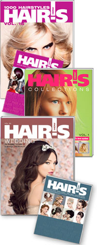 HAIR'S HOW, Vol.20 Wedding + Vol.15 1000 Hairstyles + Vol.1 Collections